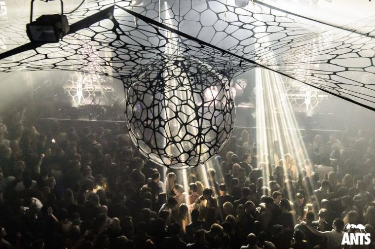 Event-decor-exhibition-structures-design-lycra-stretch-Ants1